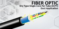 Dry Type Single Core Per Tube (SCPT) – Aerial (Figure 8)