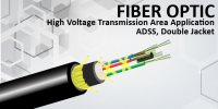 High Voltage Transmission Area Application – ADSS, Double Jacket