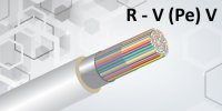 Indoor Cable Alumunium Tape Screened R-V (PE) V