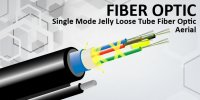 Single Mode Jelly Loose Tube Fiber Optic – Aerial  (Figure)